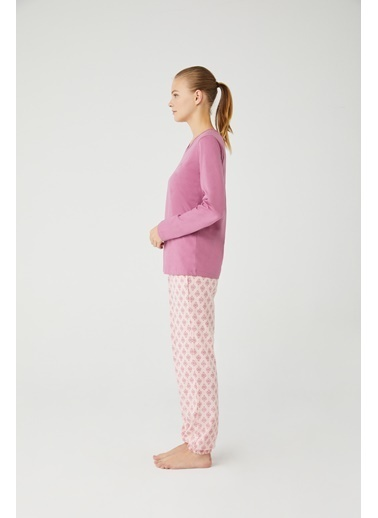 Mod Collection Kadın Pijama Takımı Pembe